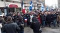 Charlie Hebdo March in Montréal