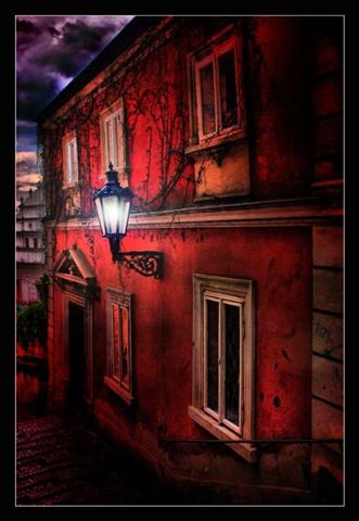 Pouliční lampa - Petr Nikl fotograf Praha