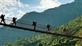 A Bridge over Marshyangdi River, Bhulbule, Nepal