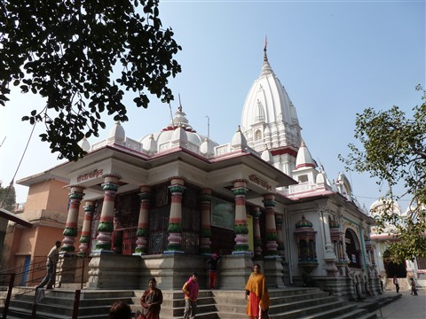 Prajapati temple in Haridwar, India