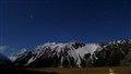 Mt Cook and Mt Wakefield by moonlight