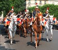 Military Band, Bastille day, Paris.