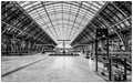 St Pancras Station, London.