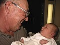 Grandpa & Grandson First Meet