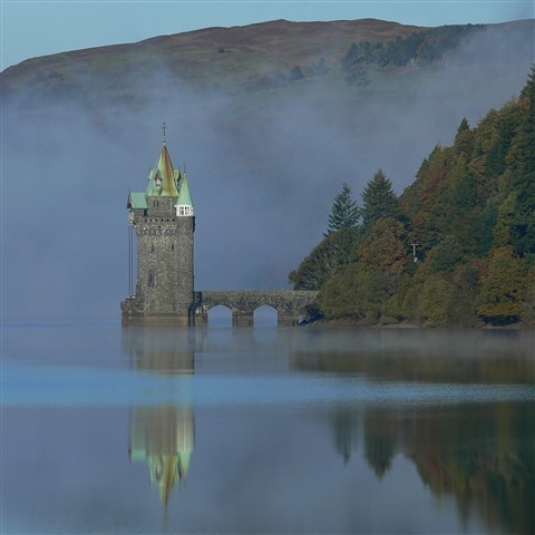 The Water Tower, Lake Vyrnwy.