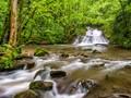 La cascade de la rivière Autoire, Lot, France