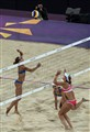 Ladies beach volleyball - Switzerland v Greece
