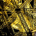Details of Eiffel tower metallic structure