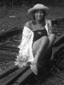 Oona on the tracks