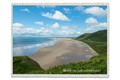 Rhossili Bay, South Wales (with isolated house)