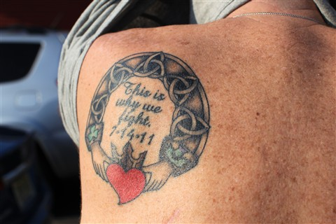Tatoo Over Lung Extraction