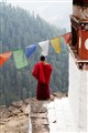 Munk in Bhutan