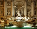 Trevi Fountain - night