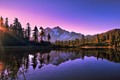 Morning At Picture Lake