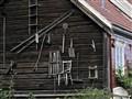 Vintage farm tools - Old Town, Trondheim