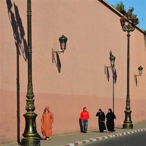 Wall lights at Marrakech