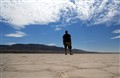 Alone in the Alvord Desert