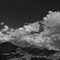 A cloudy sky B&W [1280x768]