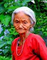 Granny at Darjeeling