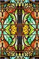 Art Deco Glass Window