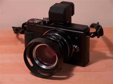 GX1 Voigtländer 35mm f1.4 & Hood