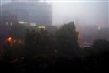 Fog in the city