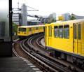 Berlin subway trains
