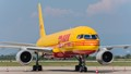 DHL 757 at Zagreb airport