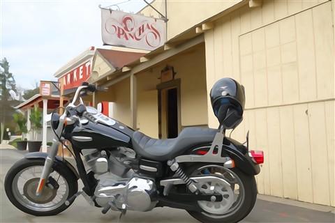 Motorcycle, Sony RX100 Watercolor Effect DSC00243