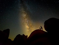 Boulders and the Milkyway-4483