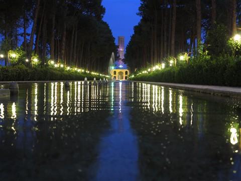 Bagh-e Dolat Abad Garden Park Yazd Central Iran Persia