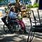 Homeless on Wheelchair