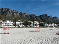 Camps Bay beach, Cape Town South Afrika