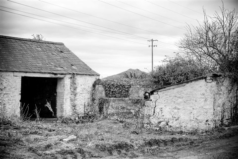 Old out-buildings at Maguire's farm