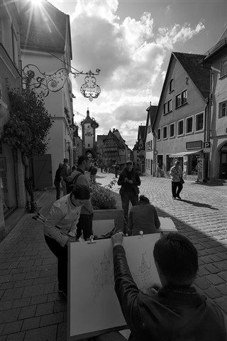 Sketching Rothenburg