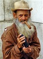 Man with Tobacco and Radio