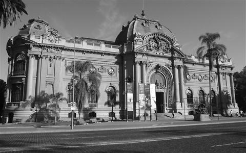 Santiago, Chile - Museo Nacional de Bellas Artes