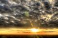 Beautiful sunset with beautiful skyes