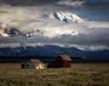 Tetons and homestead