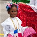 Playful Young Panamanian Dancer
