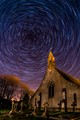 Startrails over St Saviours