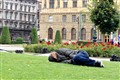 A nap in Prague