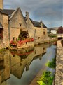 Watermill Bayuex France hdr