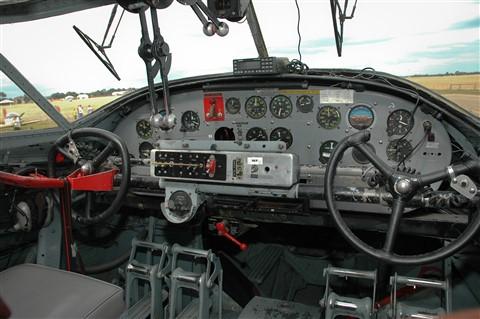 WW2 Catalina Flight Deck