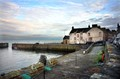 Small harbour in the village of Cellardyke on Scotlands East coast
