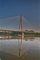 Wisła in Warsaw Świętokrzyski bridge