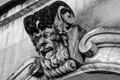 Stone Head in Lecce, Italy