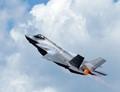 F35 on full afterburner