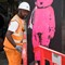 Construction Worker and Bear