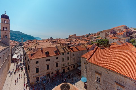 The main street, Stradun DSC08882 Dubrovnik wall walk